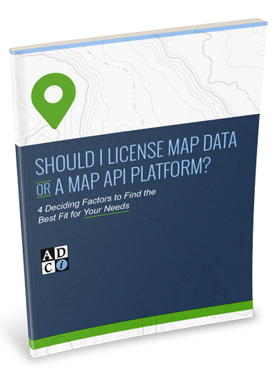 Map Data or API Platform Tip Sheet